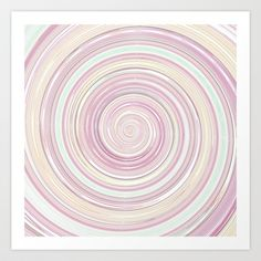 Re-Created Spin Painting No. 10 Art Print by #Robert #Lee - $18.00 #art #spin #painting #drawing #design #circle