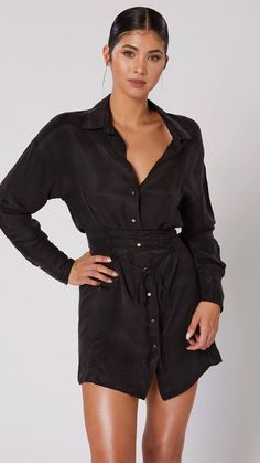 An alluring piece that can be dressed up or down Winter Outfits For Work, Celebrity Dresses, Business Casual, Corset, Shirt Style, Interview, Dress Up, Colours, Boutique