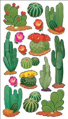 Sticko Desert Cactus Stickers $3.85
