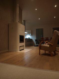 Tulikivi Parna fireplace on finnish deco blogspot.