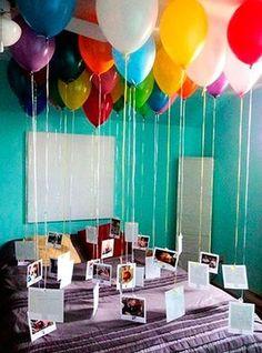 Geschenk Beste Freundin - Sadece balon ve fotoğraflar, . Geschenk Beste Freundin - Sadece balon ve fotoğraflar, . Best 30th Birthday Gifts, Adult Birthday Party, Surprise Birthday, Happy Birthday, Birthday Diy, Card Birthday, Birthday Greetings, Birthday Wishes, Birthday Surprise Ideas For Best Friend