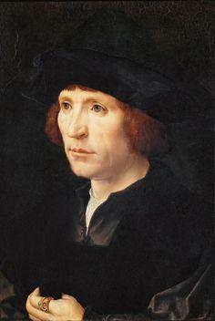 Jan Gossaert - Portrait of a Man