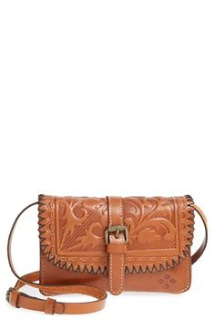 Patricia Nash 'Torri' Leather Crossbody Bag available at #Nordstrom