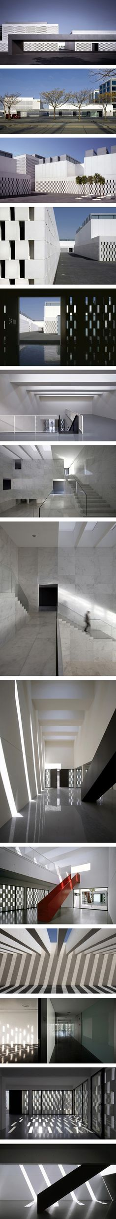 PEASS (Business Park for Sacred Art) in Seville by Suarez Santas Architects
