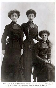 HRH The Duchess of Fife with her daughters Alexandra and Maud| Flickr - Photo Sharing!