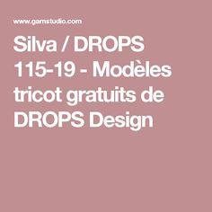 Silva / DROPS 115-19 - Modèles tricot gratuits de DROPS Design