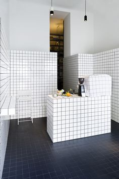 Super Mari' by Lukas Galehr. Tiles to the max. Kitchen home decor design