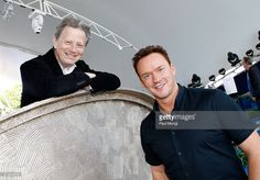 Conductor Jack Everly and Tenor Russell Watson pose for a photo at the 26th National Memorial Day Concert Rehearsals on May 23, 2015 in Washington, DC.