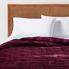 Whether you're looking to add a pop of color to a neutral-themed room or to make the feel of your bedroom extra bold, the Velvet Tufted Stitch Quilt from Opalhouse™ is a great pick. Made of a velvety material with allover tufting, this solid-color quilt brings interesting texture to your space for a look you'll love. With a variety of hues to choose from, you're sure to find one that perfectly fits the aesthetic you're going for.<br><br>This is your house....