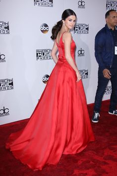 I am truly inspired and proud of this wonderful lady, Selena Gomez. You truly inspired me and many others on Sunday. We love you forever. BTW- Lovely dress