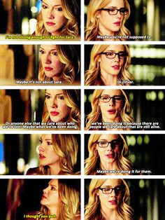 Arrow - Felicity & Laurel #3x11 #Season3 <3