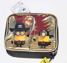 Despicable Me Minions Movie 9.5 inch Royal Ahoy Matie Pirate School Lunch Box