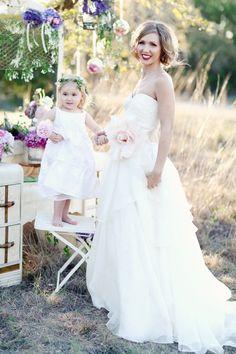 Full-length taffeta sweetheart cut #wedding dress