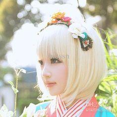 doll like - flower headband
