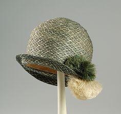 cloch hat, museums, art, metropolitan museum, chapeaux, flapper, cloche hats, fashion 1920s, cloch 1926