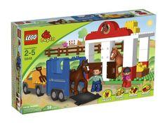 LEGO Duplo Legoville Horse Stables 5648 >>> For more information, visit image link.