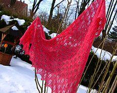 Ravelry: Birch Leaf Shawl (aka Bottom-Up Birch) pattern by Susan Gutperl