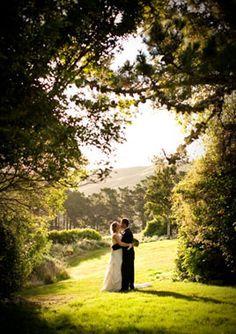 Ohariu Farm is a rustic Wellington wedding venue