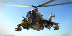 Algerian Mi-35P ATE SuperHind Mk.III