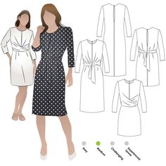 Sizes 04-16 Style Arc Sewing Pattern - Click for Other Sizes Available Maisie Designer Dress
