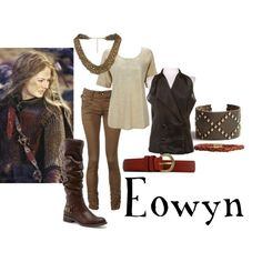 "Lord of the Rings/ The Hobbit-  ""Eowyn"" by companionclothes on Polyvore"