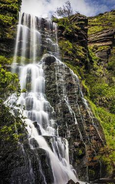 Waterfall near Bennan Head, Kildonan, Isle of Arran by James Johnstone on Photography Hashtags, Free Photography, City Photography, Isle Of Arran, Background For Photography, Photography Backgrounds, Scottish Highlands, Scotland Travel, Countries Of The World