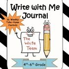 Write with Me  is a fun, engaging take-home journal that can be used throughout the school year. There are 36 journal prompts to use on a weekly ba...