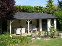 images about Tuinoverkapping Garden Buildings, Garden Structures, Outdoor Structures, Garden Houses, Outdoor Rooms, Outdoor Gardens, Outdoor Living, Wooden Gazebo, Outside Decorations