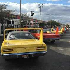 from @mopar.legends - Great shot of some Winged Mopars! Photo > @frankhanz #70Superbird #Plymouth #pin #twitter - #regrann