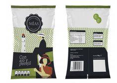 """Visualización rádida de Packaging para nueva marca de Patatas fritas sanluqueñas. """" Las Mías"""" :)"""