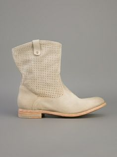 N.D.C. MADE BY HAND - perforated ankle boot 7