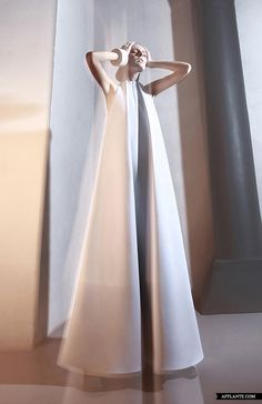 'Overground' AW'2013-2014 Fashion Collection // DZHUS #fashion #editorial #white #dress #modern #future #futuristic