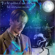 Remus Lupin by harrypottersets on Polyvore featuring art