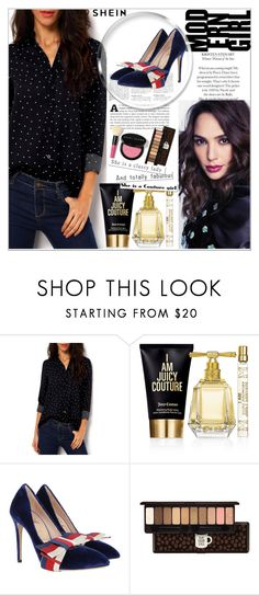 """""""Shein contest"""" by riste-rasta ❤ liked on Polyvore featuring Juicy Couture, Gucci, Etude House and Bobbi Brown Cosmetics"""