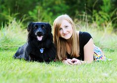 senior picture ideas for girls with their dog - Bing Images