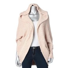 Free People 4895 Womens Ivory Wool Blend Hooded Cardigan Sweater Top XS BHFO #FreePeople #Cardigan