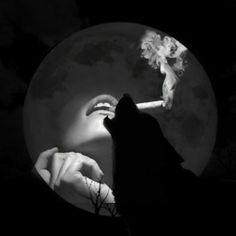 Wolf girl smoke