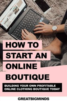 Learn how to start online boutique business in 6 simple steps. By the end of this step by step tutorial, you would have learned how to build a profitable online clothing boutique today. Read more inside. #onlinestore #onlineboutique #onlineclothingboutique #onlineboutiquebusiness #ecommerce Boutique Stores, Boutique Clothing, Starting An Online Boutique, Drop Shipping Business, Online Clothing Boutiques, Gothic Outfits, Ecommerce, Social Media, Good Things