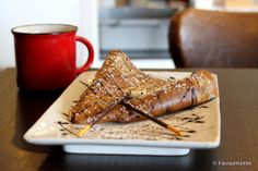 Moii Cafe is a fun fusion of a French Creperie & a Japanese milk tea house. #crepe #nuttela #moiicafe #vancouver