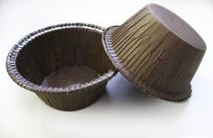 Brown Round Baking Mold - 2520/Case Bakery Supplies, Hotel Supplies, Cupcake Container, Home Bakery, Decorative Bowls, Restaurant, Baking, Brown, Bliss