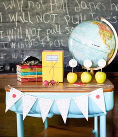 "old school days | ... > Theme Parties > Vintage-Modern ""School Day"" Collection"
