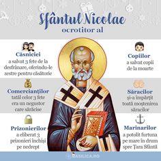 """140 aprecieri, 0 comentarii - Basilica News Agency (@basilica.ro) pe Instagram: """"*RO: """"Sfântul Nicolae este simbolul unei civilizații în care se cultivă generozitatea și ajutorarea…"""" Saint Nicholas, Pray, Saints, Life, Words, Santos"""