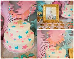 This sweet Twinkle Twinkle Little Star First Birthday is the perfect theme for your little girl!