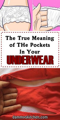Girls Do You Know What Is The Purpose Of The Pocket In Your Underwear, Bobble On The Hat..?? #myth #lollipopstick