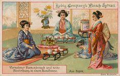 Tea ceremony, picture, image, illustration
