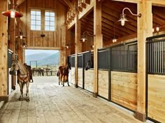 the Benefits of a Colorado Ranch with Less of the Upkeep Basic Legend series stalls by Classic Equine - looks great in any barn!Basic Legend series stalls by Classic Equine - looks great in any barn! Dream Stables, Dream Barn, Southwestern Ranch, Colorado Ranch, Vail Colorado, Classic Equine, Lazy, Horse Ranch, Horse Property