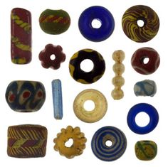 Anglo-Saxon glass beads from Eriswell From Bede to bead: The composition and origins of Early Anglo-Saxon glass beads in Britain With James. Medieval Jewelry, Viking Jewelry, Ancient Jewelry, Anglo Saxon History, Sutton Hoo, Viking Reenactment, Germanic Tribes, Norse Vikings, Viking Age