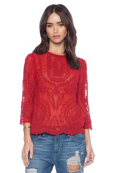d.RA Bolton Top in Ruby