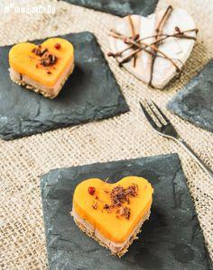 Bocadito de foie y mango con chocolate