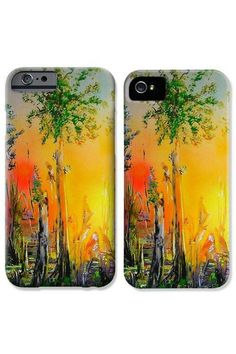 Forest Of Souls by Nandor Molnar Spray Painting, Iphone Phone Cases